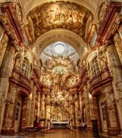 Vienna-St. Charles Church II by pingallery