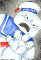 Mr. Stay Puft by kataviech