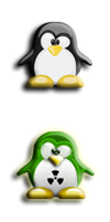 radioactive penguin start orb pack by jeffrockr