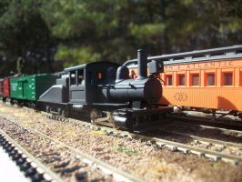 Brass 0-4-0 by CNW8646