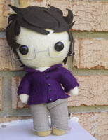 Bruce Banner Plush by Chocolate-Shinigami
