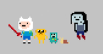 Adventure Time tiny minimal by herrpixetzl