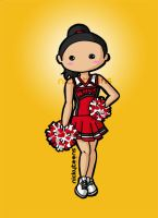 Glee: Santana Lopez by NickyToons