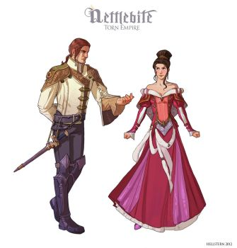 Imperial costumes by Hellstern
