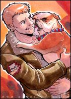 PacRim - The Ace and The Puppy by aimo