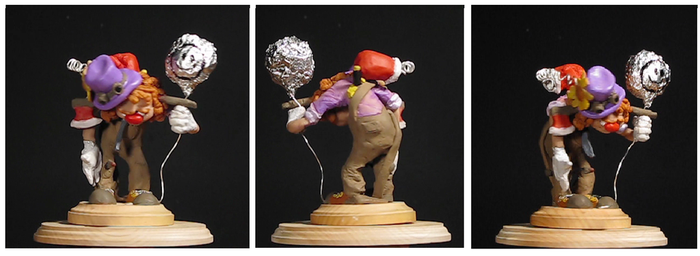 Chuckles the Clown sculputure by gogetenks8