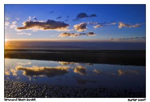 Tahunanui Beach Sunset by carterr