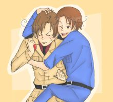 Hetalia - Gimme A Hug, Big Brother! by Butterfingas