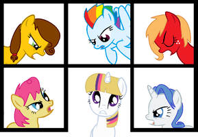 MLP Shipping Adopts by TigerPrincessKaitlyn