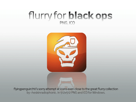 CoD Black Ops Flurry Icon by flyingpenguin710
