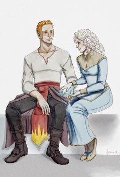 Cullen and Melina by milkytwilight