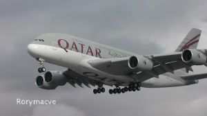 Qatar Airways Airbus A380-861 A7-APA by The-Transport-Guild