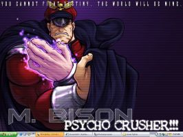 M. Bison desktop by Stainless-x