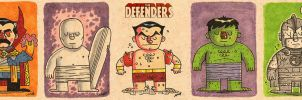 The Defenders by MattKaufenberg