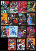 5FINITY Voltron Card Set 3 by fbwash
