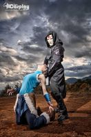 amon and avatar korra - honduras2 by team-cosplay-hn