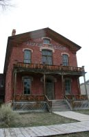 Bannack Ghost Town 43 by Falln-Stock