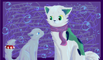 I Should Stop Wearing Scarves by: Blaussi by MjaxMajoran