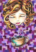 Curls and Coffee Swirls by bryancollins