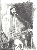 Jesse Lacey by decomposerdoll