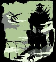 Silhouette of the colossus by peckerdun25