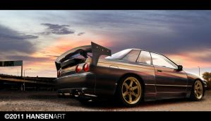 Nissan Skyline R32 by ilPoli