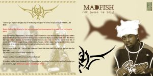 madfish the debut cd inlay by braynx