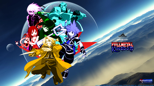 Fullmetal Kingdom Heroes Wallpaper by 4xEyes1987