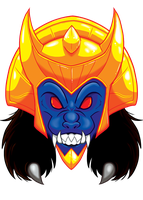 Goldar Tshirt by Toonfused
