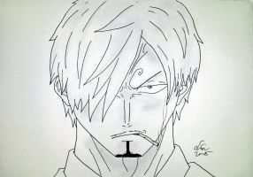 Black leg Sanji. by SimpleTheSaviour