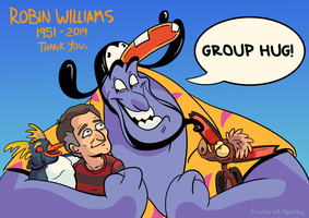Robin Williams Tribute by FruitsofApathy
