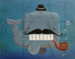 Watson the Whale by KatisMrsLovett