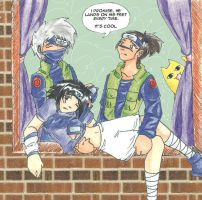 kakashi's other hobby by VanillaPudding