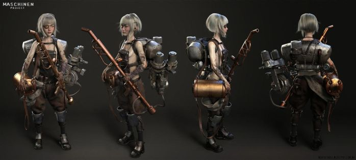 Makingof Maschinen Project In Zbrush by avcgi360