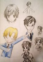 Ouran Doodles by evalesco5