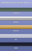 GNOME Panel Theme Pack 2 by half-left