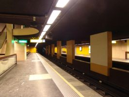 metro station by januarystock by januarystock