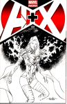 Emma Frost - A+X #1 by SpiderGuile