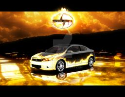 Scion tC - Rekindled Blaze by EdgeFx1