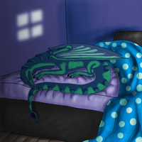 Request- Sleeping peacefully by Narncolie