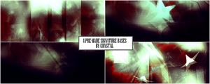 Pre-Made Signature Backgrounds #2 by crissie2389