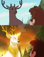 Screenshot Redraw Dipper and Deer by Jack-a-Lynn