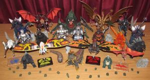 S.H. Monsterarts Collection, 2011-2014 by Mr-X-The-Kaiju-Freak