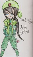 Young/ Adult John by Rockman214