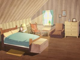 bg design - the bedroom by catzhao1225