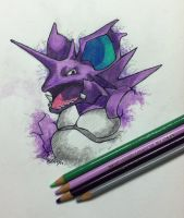 Nidoking by Shinku15
