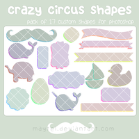 crazy circus shapes by maytel