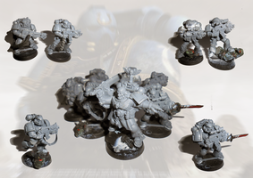 Tactical Squad conversion no paint yet by orcbruto