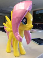 My Little Pony Fluttershy Papercraft by Meercat122