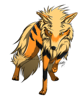 Arcanine by PulsingLights